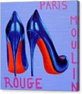Irish Burlesque Shoes Canvas Print