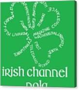 Irish Channel Nola Canvas Print