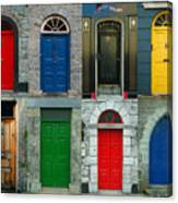 Irish Doors Canvas Print
