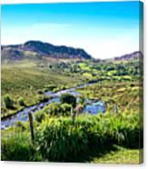 Irish Fields Of Green Canvas Print