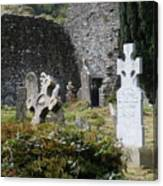 Irish Graves Canvas Print