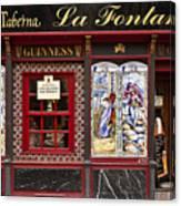 Irish Pub In Spain Canvas Print