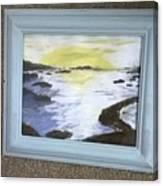 Irish Sea Canvas Print