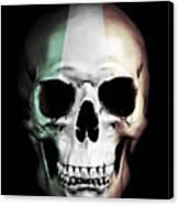 Irish Skull Canvas Print