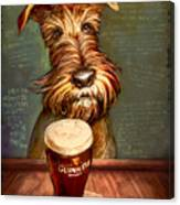 Irish Toast Canvas Print
