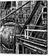 Iron Age - Bethelehem Steel Mill Canvas Print