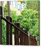 Iron Fence 2 Canvas Print