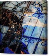 Iron Gate Abstract Canvas Print