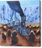 Iron Horse Canvas Print