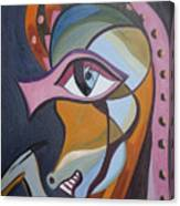Iron Horse Head Canvas Print