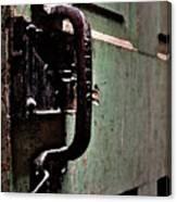 Iron Ic Door Handle Canvas Print