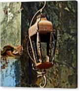 Iron Lamp 7868 Canvas Print