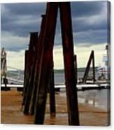 Iron Pillars Canvas Print