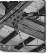 Iron Roof Canvas Print