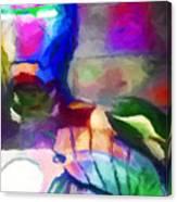 Ironman Abstract Digital Paint 3 Canvas Print