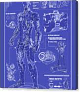 Ironman Patent Canvas Print
