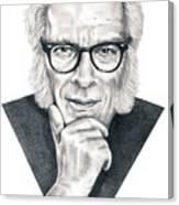 Isaac Asimov Canvas Print