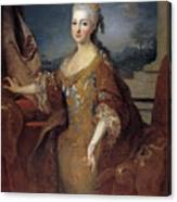 Isabella Louise Of Orleans. Queen Of Spain Canvas Print