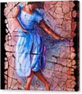 Isadora Duncan - 3 Canvas Print