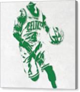 Isaiah Thomas Boston Celtics Pixel Art 2 Canvas Print
