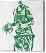 Isaiah Thomas Boston Celtics Pixel Art Canvas Print