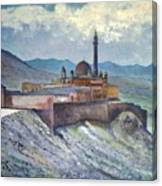 Ishak Pasa Palace Dogubayarzit Anatolia Turkey 2006  Canvas Print