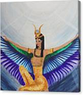 Isis Wings Canvas Print