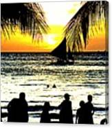 Isla De Boracay Canvas Print