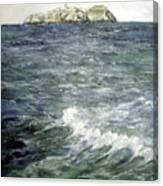 Isla De Mouro-santander Canvas Print