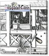Island Cafe Canvas Print