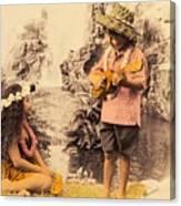 Island Children Canvas Print