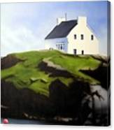 Island House Canvas Print