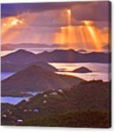 Island Rays Canvas Print