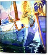 Island Sisters Canvas Print
