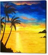 Island  Viewing Canvas Print