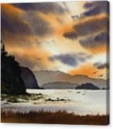 Islands Autumn Sky Canvas Print