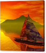 Islandside Canvas Print