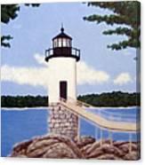 Isle Au Haut Lighthouse Canvas Print
