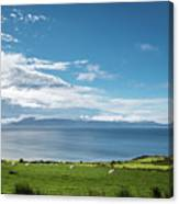 Isle Of Arran Under Cloud Canvas Print