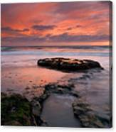 Isle Of The Setting Sun Canvas Print