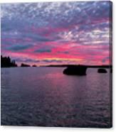 Isle Royale Belle Isle Dawn Canvas Print