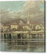 Isola Dei Pescatori Canvas Print