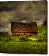 Isolated Barn Canvas Print