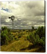 Isolated Windmill Canvas Print