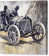 Isotta Fraschini 50hp 1908 Targa Florio  Canvas Print
