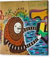 Israel Graffiti #2 Canvas Print