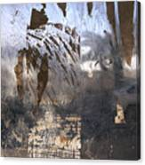 Israel, Jerusalem Abstract Of A Window Canvas Print
