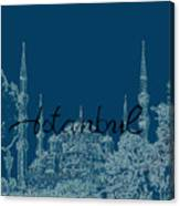 Istanbul Blue Mosque Canvas Print