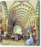 Istanbul Old Market Canvas Print