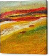 Istrian Landscape Canvas Print